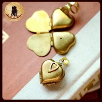 one heart locket at Blisby