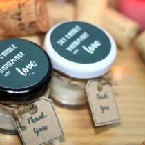 Soy Candle mini jam / pcs at Blisby