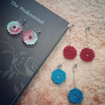 Crochet Earrings at Blisby
