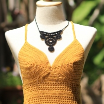 Gold Top Bikini Crochet at Blisby