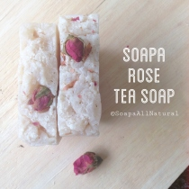 Rose Tea Soap at Blisby