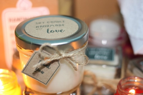 Soy Candle money jar large image 0 by Brownnie