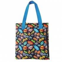Tag bomb blk tote at Blisby