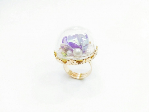 ♡ Flora embroidery ring  large image 0 by pakcharm