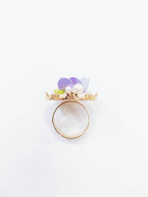 ♡ Flora embroidery ring  large image 1 by pakcharm