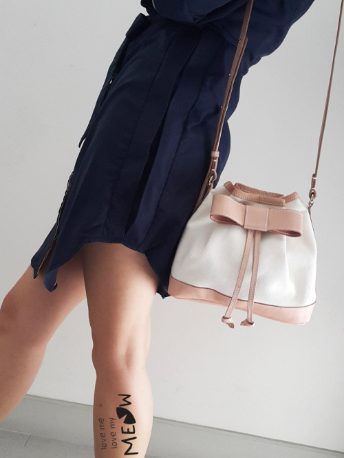 """""""BOW"""" Bucket Bag  large image 0 by LoveMeLoveMyMeow"""