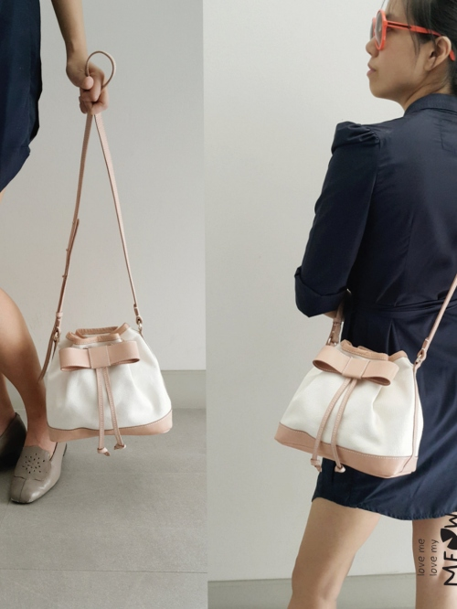 """BOW"" Bucket Bag  large image 2 by LoveMeLoveMyMeow"