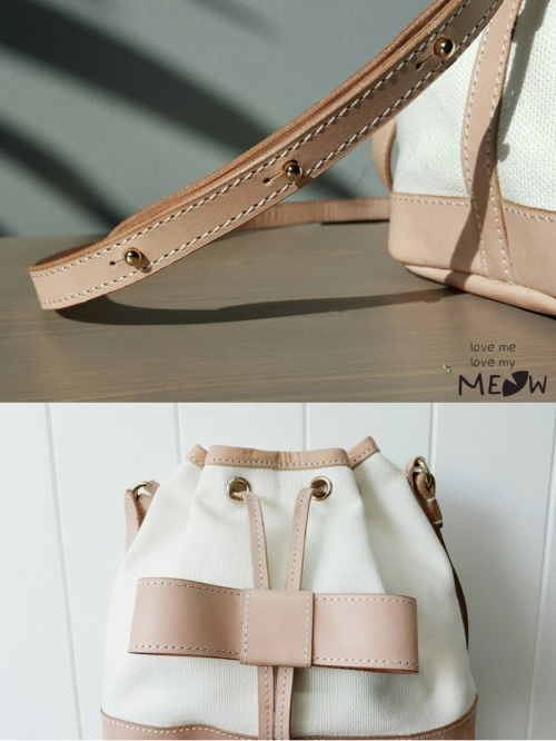 """BOW"" Bucket Bag  large image 4 by LoveMeLoveMyMeow"