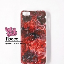 iphone 5/5s/6/6s handmade case  สีแดงดำ at Blisby