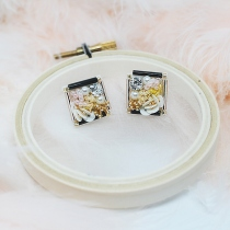 ต่างหู Classic earring (square)  at Blisby
