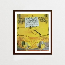The Yellow Console With A Violin by Raoul Dufy (ภาพพิมพ์)	 at Blisby