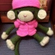 Monkey love doll