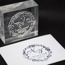 Acrylic ,Custom Stamp at Blisby