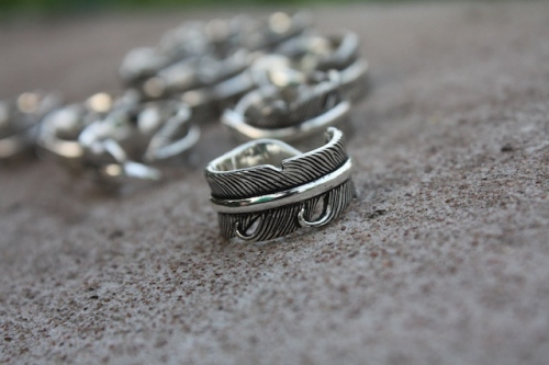 Feather Ring Silver 925 large image 0 by YellowSubmarine