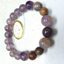 Cacoxinite in Amethyst and Mixed Stone at Blisby