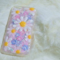 IPhone case pastel garden flower special  at Blisby