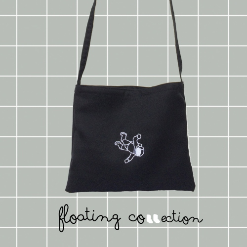 Floating Bag (กระเป๋าสะพายข้าง) large image 0 by 981embroidery