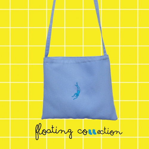 Floating Bag (กระเป๋าสะพายข้าง) large image 1 by 981embroidery