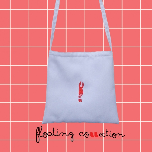 Floating Bag (กระเป๋าสะพายข้าง) large image 2 by 981embroidery