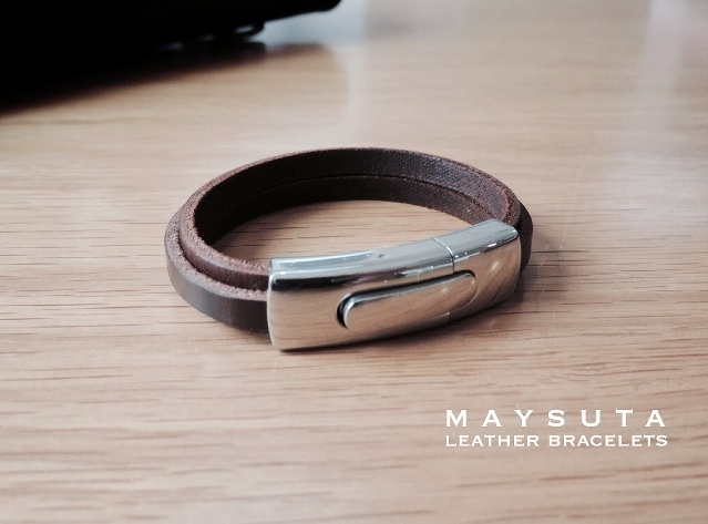 Maysuta Leather Bracelets (MS2) large image 2 by Maysuta