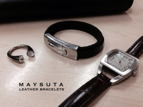 Maysuta Leather Bracelets (MS2) large image 3 by Maysuta