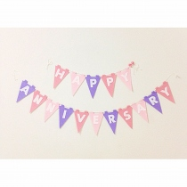 Made to Order - ฉลองวันครบรอบ Happy Anniversary Bunting at Blisby