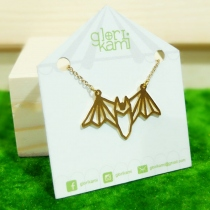Glorikami ฺBat Origami Necklace at Blisby