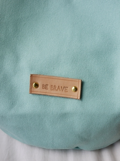 Mint Candy Canvas Bucket Bag large image 1 by bebrave