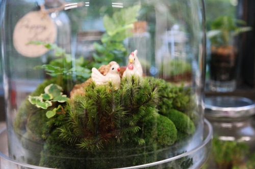 """""""Chicken little on green home.""""  large image 1 by puppyleafshop"""