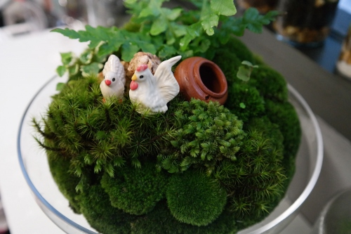 """""""Chicken little on green home.""""  large image 2 by puppyleafshop"""