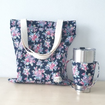 Easy Day Bag & Holder (กระเป๋าผ้า+ปลอกแก้ว) at Blisby