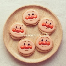 Anpanman Icing Cookies at Blisby