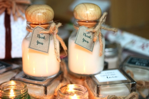 Soy Candle ในโหลน้ำผึ้ง large image 1 by Brownnie