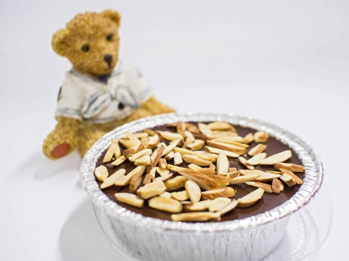 Soft Chocolate Cake with Almonds large image 0 by MomMadeBakery