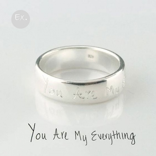 Ring Silver925 แหวนเงินแท้  สลักชื่อฟรี large image 4 by An3Cafe
