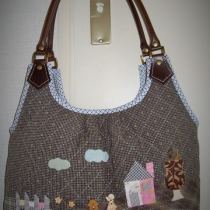 Handmade Quilt Bag at Blisby