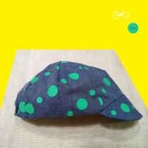 หมวกผ้า Handmade Cycling cap at Blisby