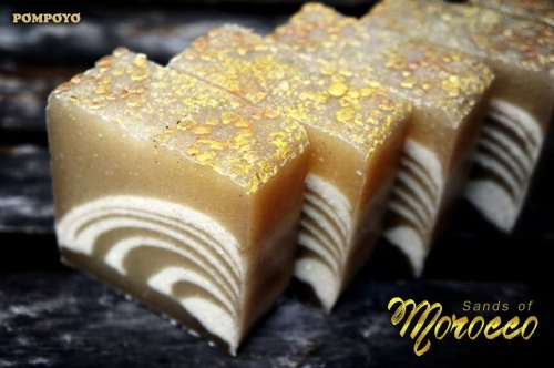 POMPOYO SOAP : Sands of Morocco  large image 0 by POMPOYO