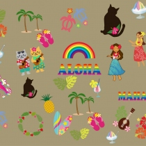 Island Girl Digital Clip Art at Blisby