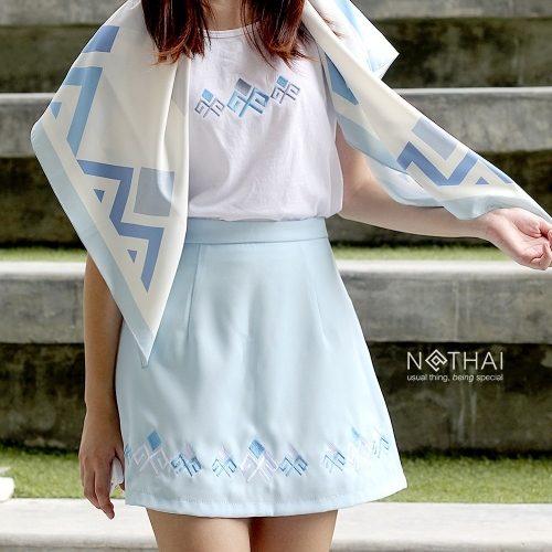Embroidery skirt - B large image 0 by NATHAI
