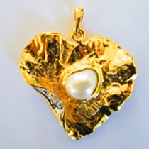 Heart pendant at Blisby