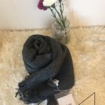 Acne studios scarves [Ash Grey]  at Blisby