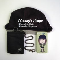 Maki, Handmade Phone Case with Moody Cute Cartoon, iPhone & Galaxy at Blisby