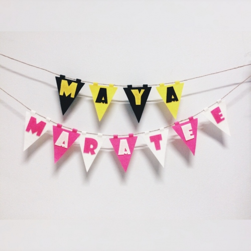 Bunting - ธงราว (made to order) large image 0 by MerryAlphabet