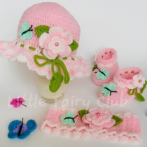 Sweet butterfly girl set at Blisby