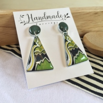earring hangmade at Blisby
