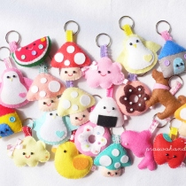 l doll/brooch/keychain at Blisby
