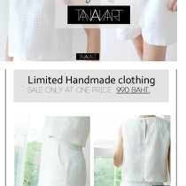 Limited handmade clothing-tananart at Blisby