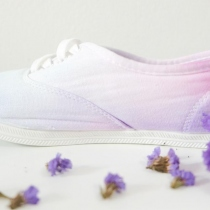 Dip Dye Cotton Shoes at Blisby