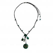 พวงแก้ว (Puangkaew) Handmade Natural Stone Necklace at Blisby